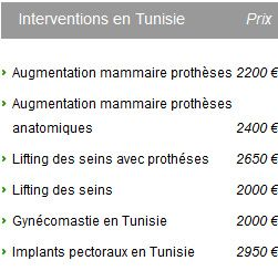 prix chirurgie esthétique seins antibes 6600